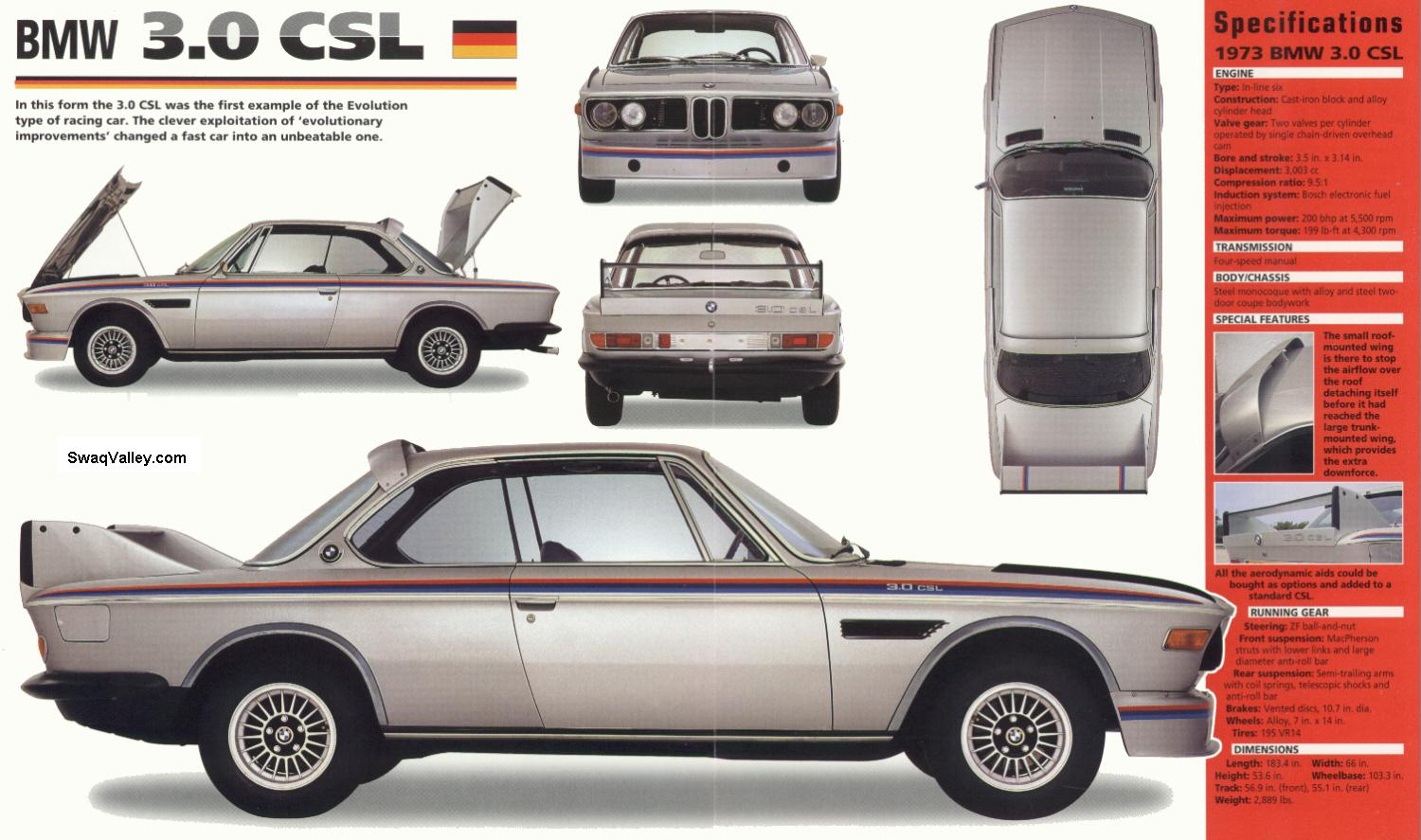 nostalgic wednesdays bmw 3 0 csl das batmobil mayday garage. Black Bedroom Furniture Sets. Home Design Ideas