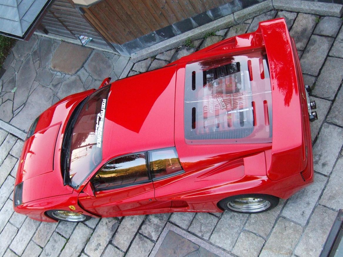 Nostalgic Wednesdays: Ferrari Testarossa Koenig ...