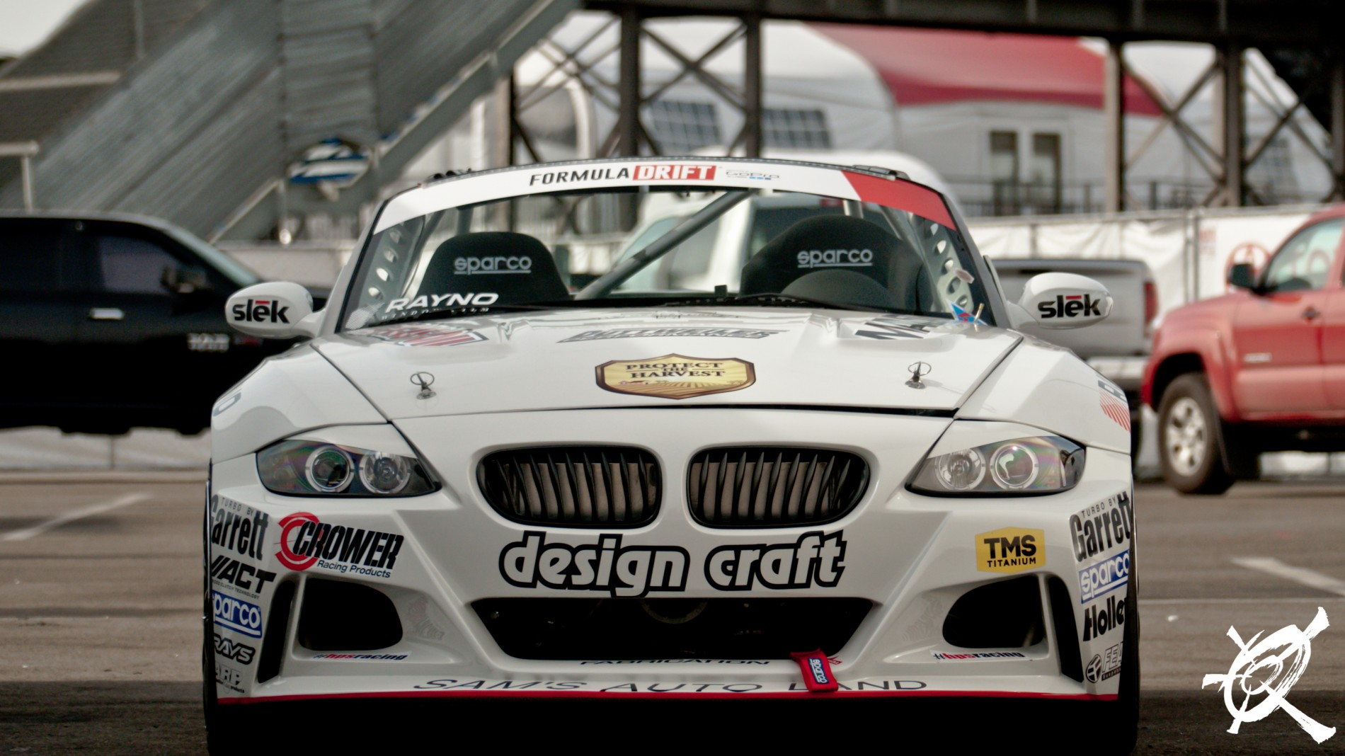 Joon Maeng did not qualify but his Z4 was still looking mean